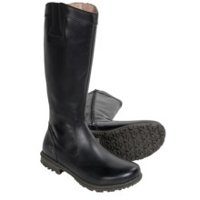 Bogs Footwear Pearl Tall Boots - Waterproof Leather (For Women) in Ebony - Closeouts
