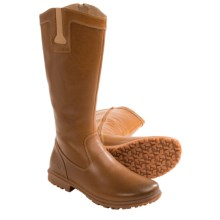 Bogs Footwear Pearl Tall Boots - Waterproof Leather (For Women) in Tan - Closeouts
