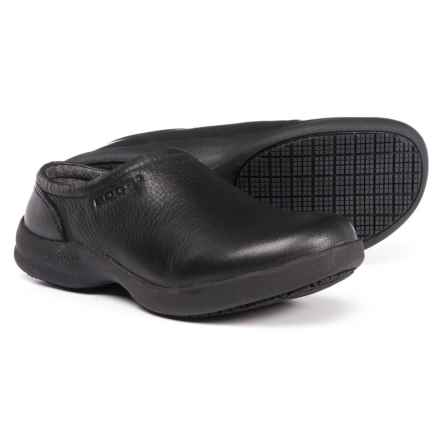 Bogs Footwear Ramsey Leather Clogs - Slip-Ons (For Women) in Black - Closeouts