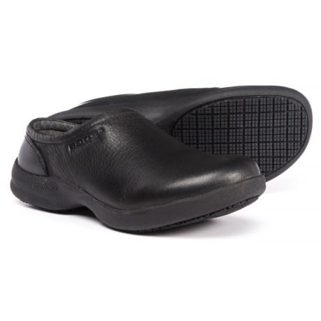 Bogs Footwear Ramsey Leather Clogs - Slip-Ons (For Women) in Black