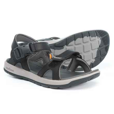 Bogs Footwear Rio Sport Sandals - Leather (For Women) in Black - Closeouts