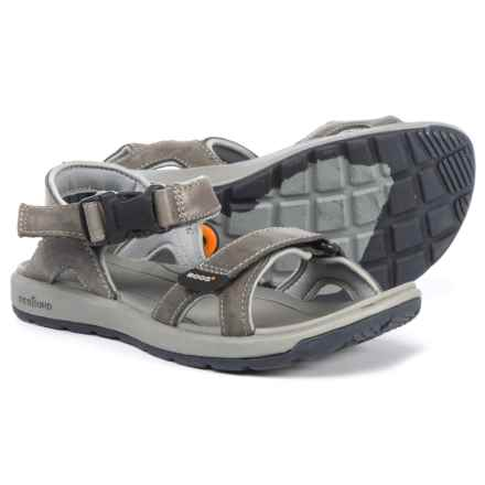Bogs Footwear Rio Sport Sandals - Leather (For Women) in Charcoal - Closeouts