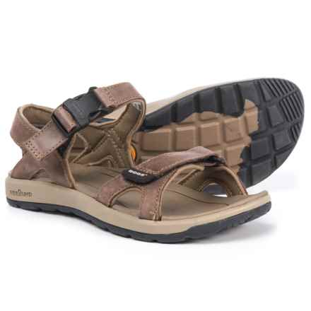 Bogs Footwear Rio Sport Sandals - Leather (For Women) in Dark Brown - Closeouts