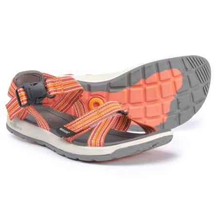 Bogs Footwear Rio Stripes Sport Sandals (For Women) in Orange Multi - Closeouts