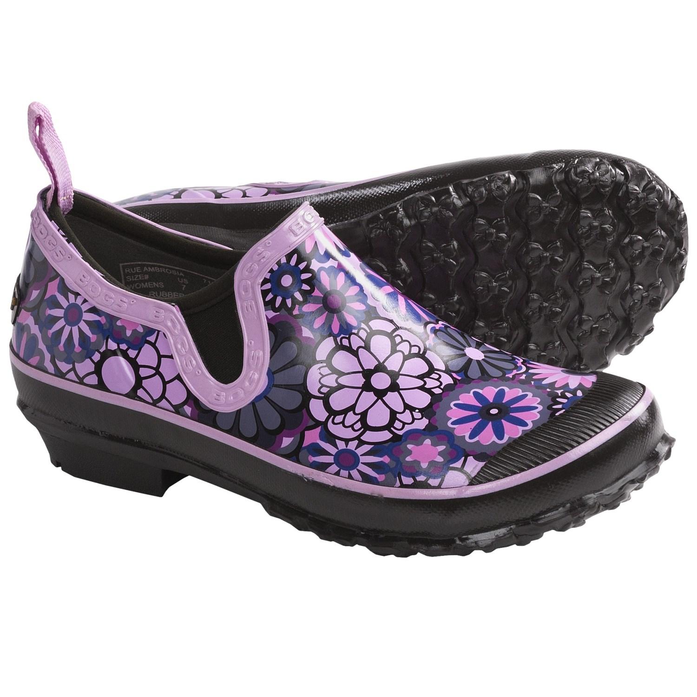 Footwear Rue Ambrosia Rain Shoes - Waterproof (For Women) in Grape