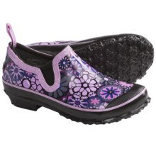 Bogs Footwear Rue Ambrosia Rain Shoes - Waterproof (For Women) in Grape - Closeouts