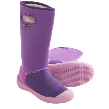 Bogs Footwear Summit Rain Boots - Waterproof (For Kids and Youth) in Plum