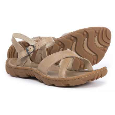 Bogs Footwear Todos Leather Sandals (For Women) in Taupe - Closeouts
