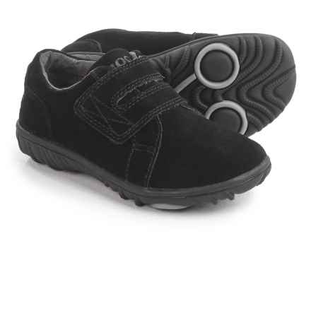 Bogs Footwear Wall Ball Shoes - Suede (For Toddlers) in Black - Closeouts