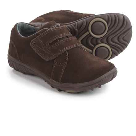Bogs Footwear Wall Ball Shoes - Suede (For Toddlers) in Chocolate - Closeouts