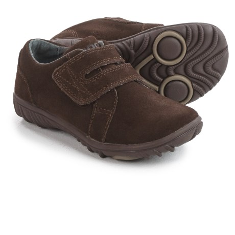 Bogs Footwear Wall Ball Shoes - Suede (For Toddlers) in Chocolate