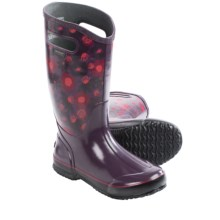 Bogs Footwear Watercolor Rain Boots - Waterproof (For Women) in Plum Multi - Closeouts