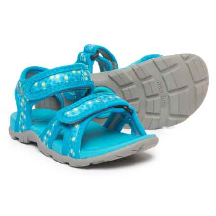 Bogs Footwear Whitefish Dot Sport Sandals (For Boys) in Light Blue Multi - Closeouts