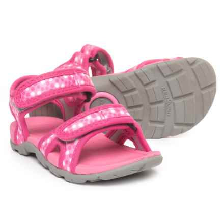Bogs Footwear Whitefish Dot Sport Sandals (For Girls) in Pink Multi - Closeouts