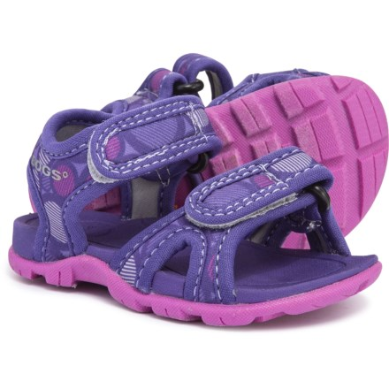 b9aacfc66fed Bogs Footwear Whitefish Dot Sport Sandals (For Girls) in Violet Multi