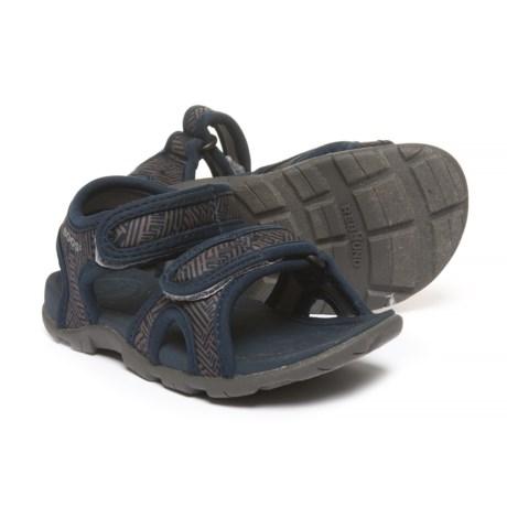 Bogs Footwear Whitefish Shatter Sport Sandals - Waterproof (For Boys) in Navy Multi