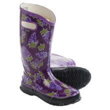 Bogs Fruit Rain Boots - Waterproof (For Women) in Grape - Closeouts