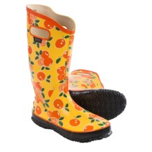 Bogs Fruit Rain Boots - Waterproof (For Women) in Orange - Closeouts