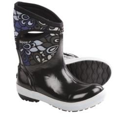 Bogs Plimsoll Vintage Mid Rain Boots - Waterproof (For Women) in Black