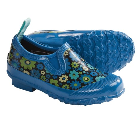 Bogs Rue Rain Shoes - Waterproof, Slip-Ons (For Girls) in Blue