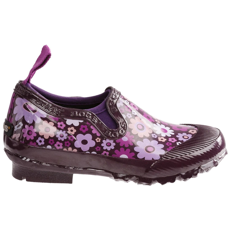 Girls Size  Slip Over Rain Shoes