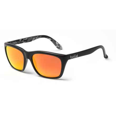 Bolle 527 Sunglasses - Polarized in Black/Black Camo/Fire - Closeouts