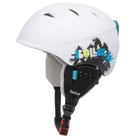 Bolle B-Free Ski Helmet (For Kids and Youth) in Soft White Tree - Closeouts