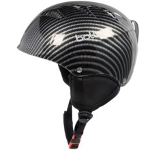 Bolle B-Kid Ski Helmet (For Kids and Youth) in Shiny Carbon - Closeouts