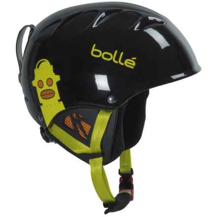 Bolle B-Kid Ski Helmet (For Little Kids) in Shiny Black Robot - Closeouts