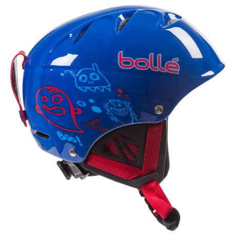 Bolle B-Kid Ski Helmet (For Little Kids) in Shiny Blue Monster