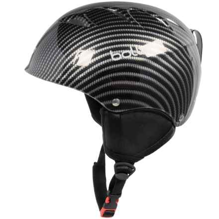Bolle B-Kid Ski Helmet (For Little Kids) in Shiny Carbon - Closeouts
