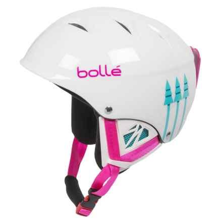 Bolle B-Kid Ski Helmet (For Little Kids) in Shiny White Birds - Closeouts