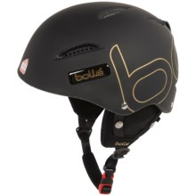 Bolle B-Style Ski Helmet in Soft Black/Gold - Closeouts