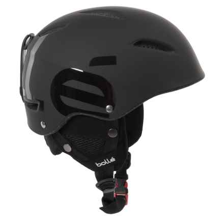Bolle B-Style Ski Helmet in Soft Black - Closeouts