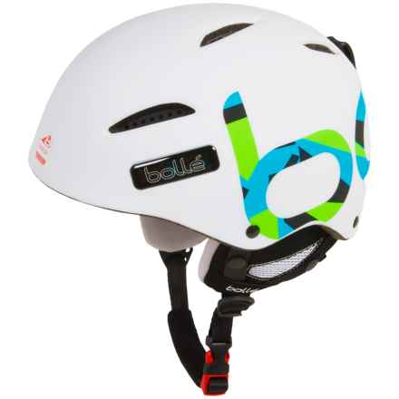 Bolle B-Style Ski Helmet in Soft White Zenith - Closeouts