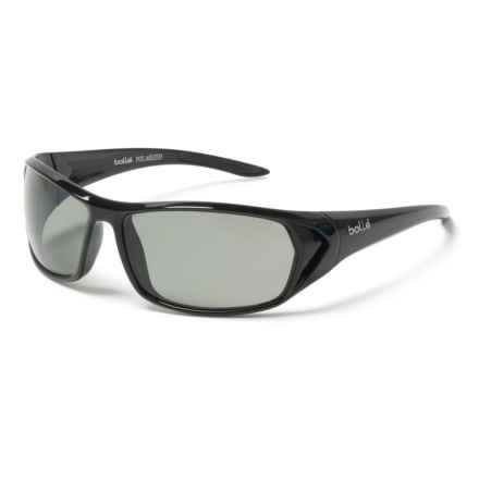 Bolle Blacktail Sunglasses - Polarized in Shiny Black/Modulator Grey/Oleo Af - Overstock