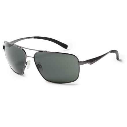 Bolle BOLLE BRISBANE SUNGLASSES in Shiny Gunmetal - Overstock
