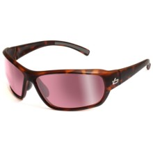 Bolle Bounty Sunglasses - Photochromic in Satin Crystal Tortoise/Rose Gunmetal - Closeouts