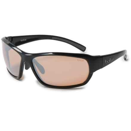 Bolle Bounty Sunglasses - Photochromic in Shiny Black - Overstock
