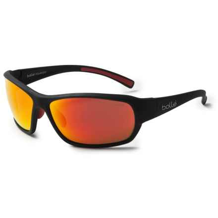 Bolle Bounty Sunglasses - Polarized in Matte Black/Polarized Tns Oleo Af - Closeouts