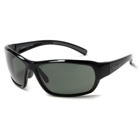 Bolle Bounty Sunglasses - Polarized in Shiny Black/Black