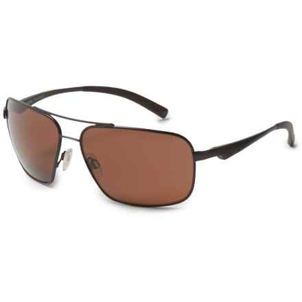 Bolle Brisbane Sunglasses - Polarized in Matte Brown - Overstock