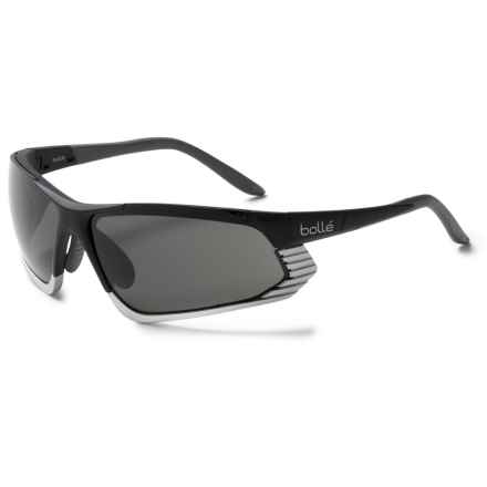 Bolle Cadence Sunglasses in Matte Black Silver/Tns Oleo Af - Closeouts
