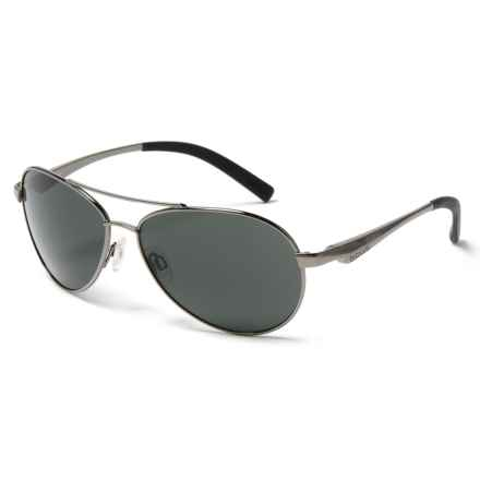 Bolle Cassis Sunglasses in Shiny Gunmetal - Closeouts