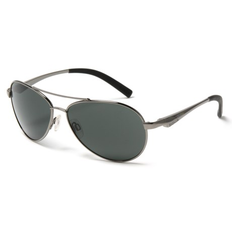 Bolle Cassis Sunglasses in Shiny Gunmetal