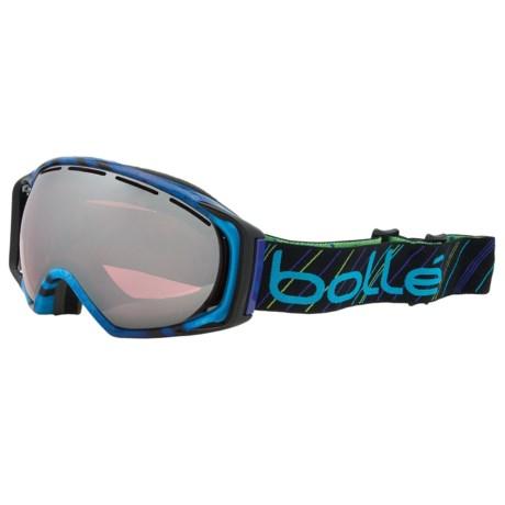 Bolle Chumpy Snowsport Goggles - Vermillion Lens in Pullin Gravity/Vermillion Gunmetal