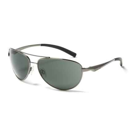 Bolle Columbus Sunglasses in Shiny Gunmetal/True Neutral Smoke - Overstock