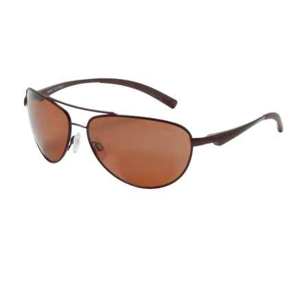 Bolle Columbus Sunglasses - Polarized in Matte Brown/Sandstone - Closeouts