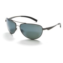 Bolle Columbus Sunglasses - Polarized in Satin Gunmetal/True Neutral Smoke - Closeouts