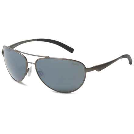 Bolle Columbus Sunglasses - Polarized in Satin Gun - Overstock